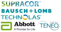 Partenaires, Supracor, Bausch + Lomb, Technolas, Abbott, Teneo